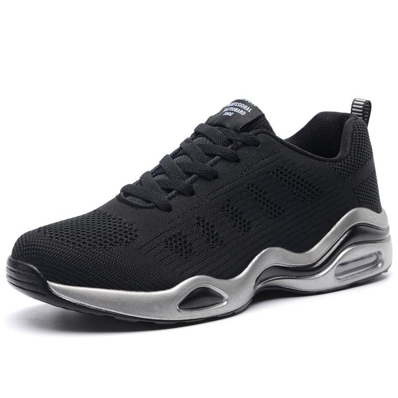 Deporte Krasovki Zapatos Hombres Masculinos gris Negro Adultos Entrenadores blanco Verano Transpirable Calzado Marca Primavera Hombre Zapatillas xxCvgf