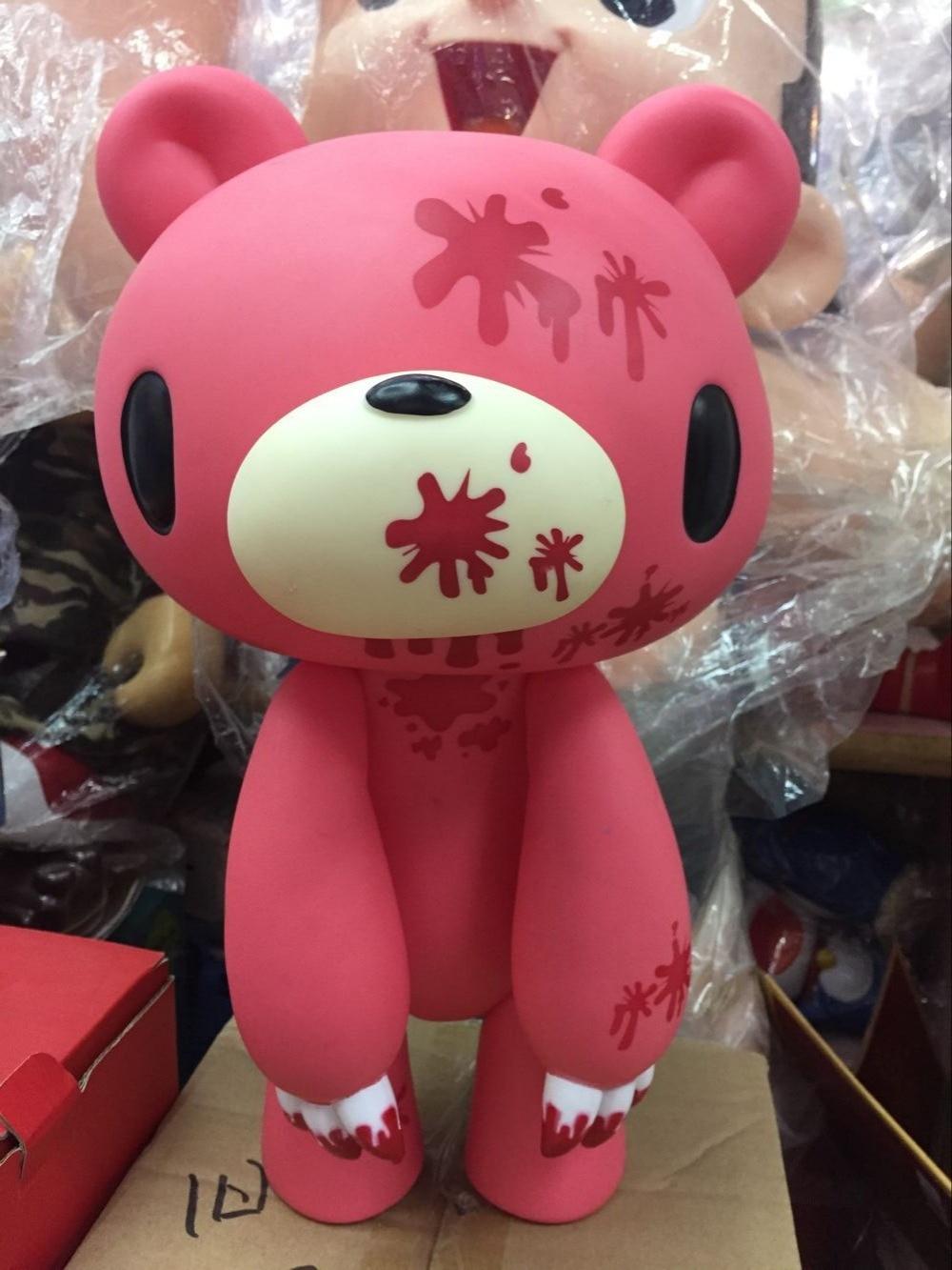 ФОТО Anime  Gloomy Bear  STUDIO GHIBLI Cute PVC Flocking Figure Cat Piggy Bank Money Box Coin bank Toys 35CM