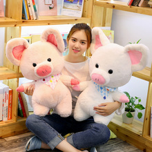 70 Cm Soft Pink Pig Adorable Plush Toy Stuffed Cute Animal Lovely Dolls For Kids Appease Babys Room Decoration