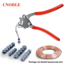 Coated Handle Lead Seal Sealing