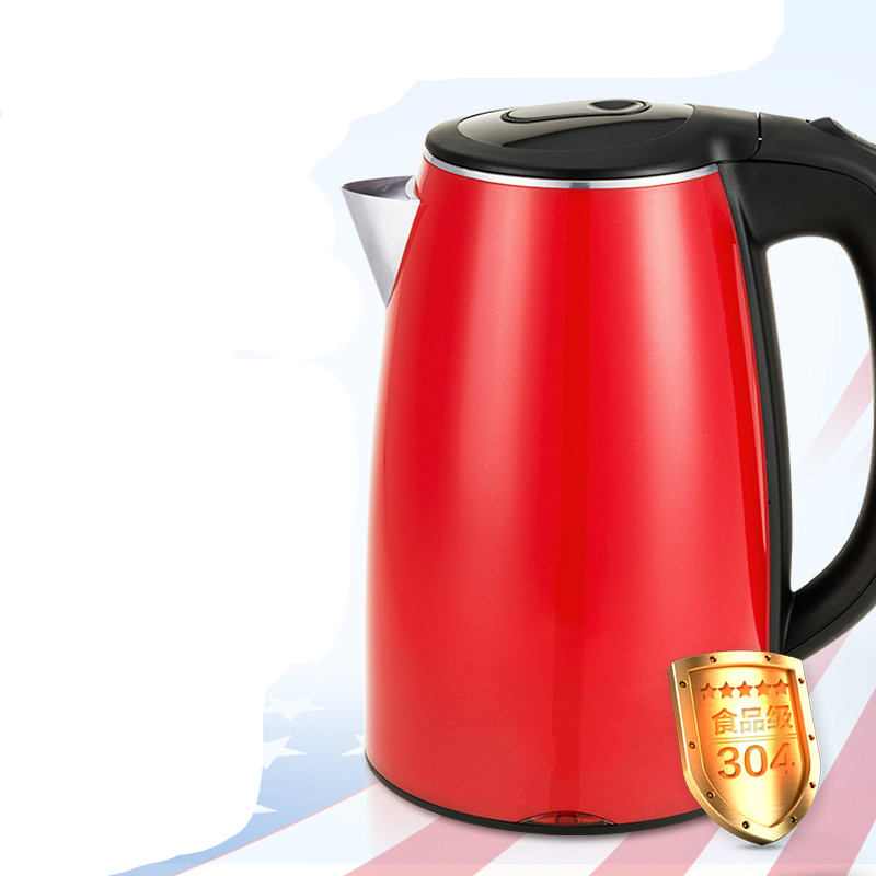 Electric kettle 304 stainless steel electric used Safety Auto-Off Function electric kettle electric is used house 304 stainless steel insulators safety auto off function