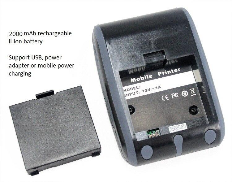 Precio de fábrica Impresora de código de barras de mano con - Electrónica de oficina - foto 5