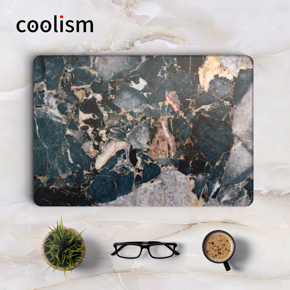 Mix Marble Texture Laptop Sticker for Apple Macbook Air Pro