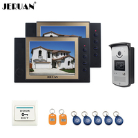 8 Inch LCD Video Door Phone Doorbell Intercom System Access Control System Camera Video Recordingphoto Taking