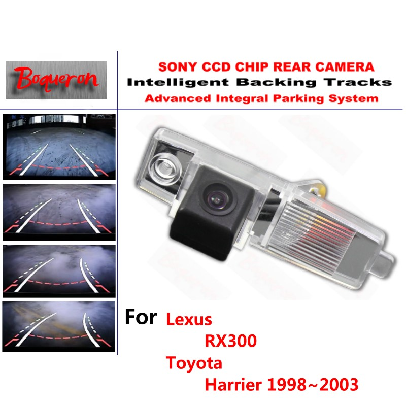 for <font><b>Lexus</b></font> <font><b>RX300</b></font> for Toyota Harrier <font><b>1998</b></font>~<font><b>2003</b></font> CCD Car Backup Parking Camera Intelligent Tracks Dynamic Guidance Rear View Camera image