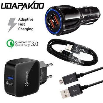 EU Plug QC 3.0 fast usb Charger Car adap...