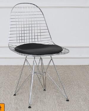 купить Barbed wire chair metal dining chair дешево