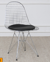Barbed wire chair metal dining chair