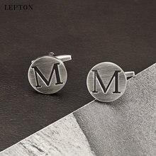 Запонки «Алфавит» lepton letters m of an запонки для мужчин