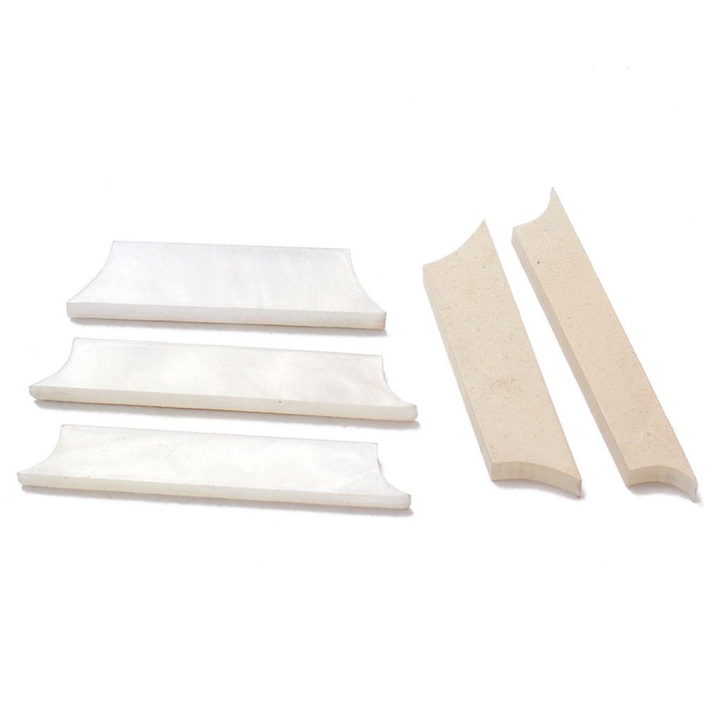 Emergency Kits Alert 9 Pieces 1.5mm/0.05 White Mother Of Pearl Guitar Fretboard Inlay Material Dots Guitar Replacement Gift Luthier Tool Kit Decor