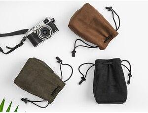 Image 3 - Camera Retro Protector Case Soft Bag Pouch for Canon Nikon Sony Pentax DSLR &  Mirrorless Camera  70D 5D3 D800 D5300 A7R2 XT 20