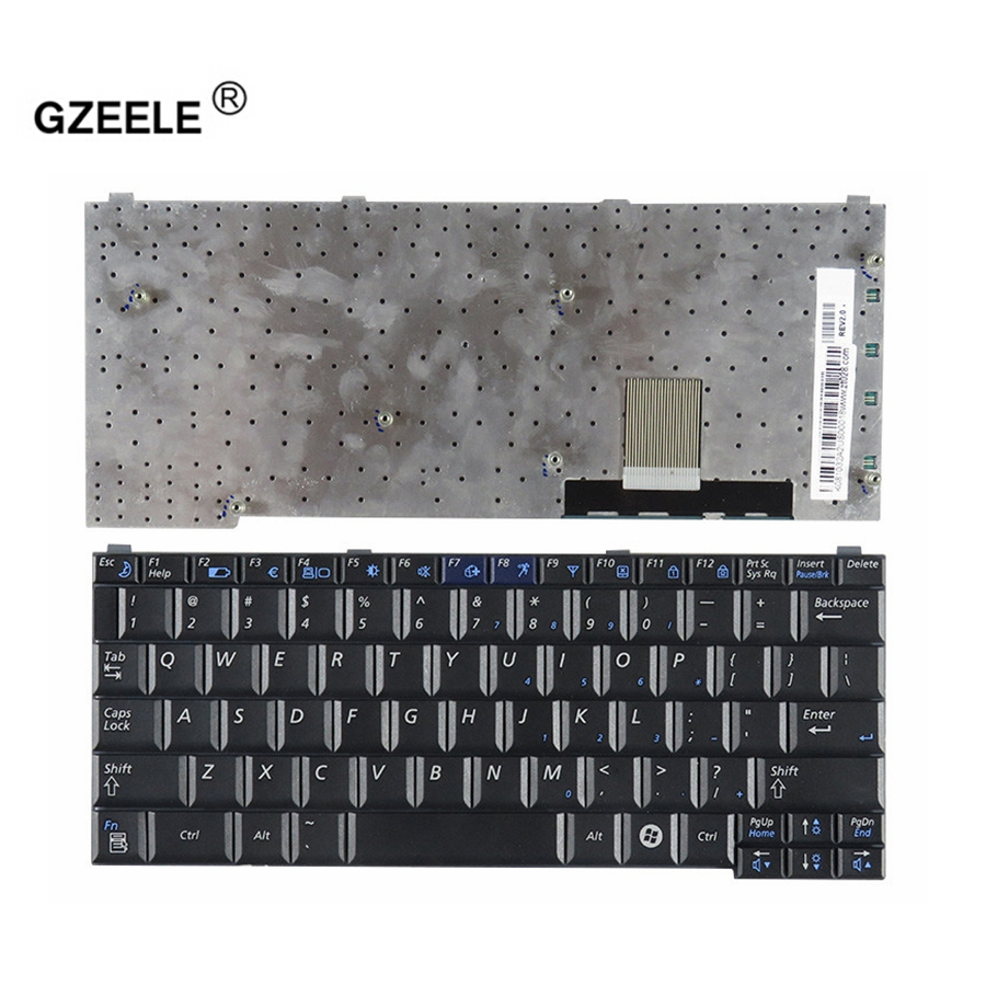 GZEELE US Laptop Keyboard For SAMSUNG Q30 Q40  English Replace Keyboards Black