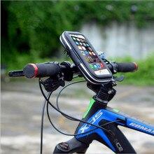 GRANDE VENDA de Veículos Universal Portátil À Prova D' Água Ao Ar Livre Da Motocicleta Bicicleta Caso Titular Rack Suporte de Navegação GPS Do Telefone Móvel NOVO