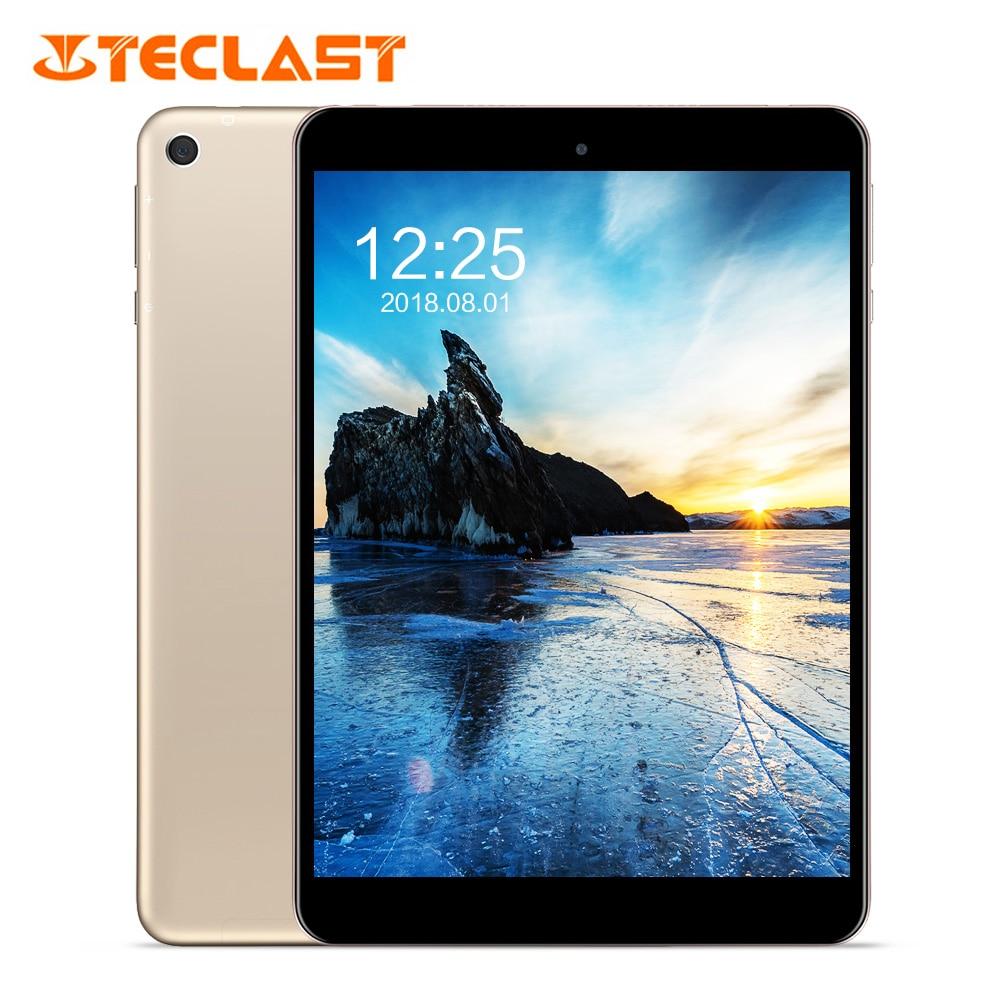 M89 Teclast Tablet PC 7.9 polegada Android 7.0 MTK8176 Hexa Core 2.1 GHz 32 3 GB RAM GB ROM eMMC dupla Câmeras Dual WiFi HDMI Tipo C-