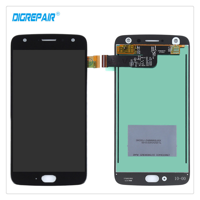 100% Tested Black For Motorola Moto X4 LCD Display Touch Screen Digitizer Assembly Repair Replacement Parts Smartphone Accessory