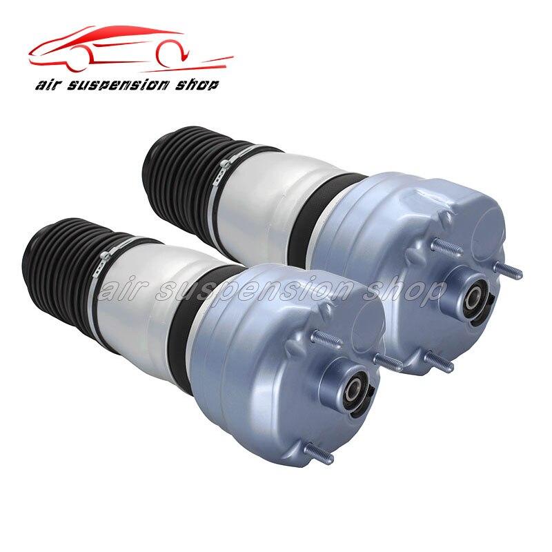 Pair for Porsche Panamera Air Suspension Shock Spring Bag Repair Kits Front 97034305108 97034305208 97034305114