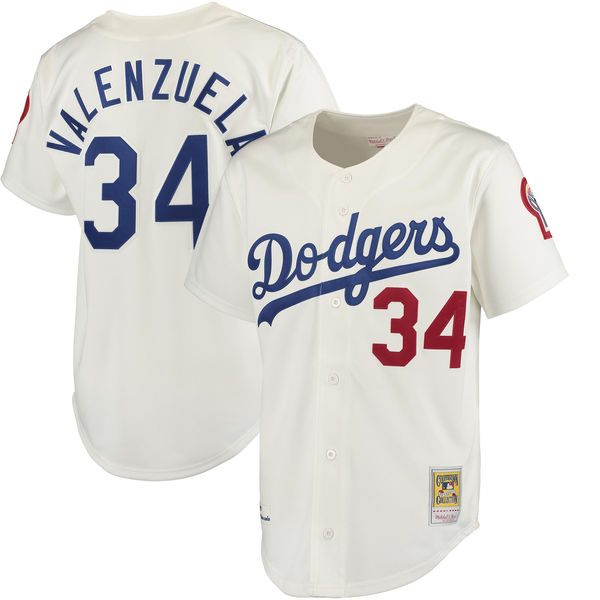 5f9223ae9 netherlands los angeles dodgers 34 fernando valenzuela white lady fashion  stitched baseball jersey 0080f f256c