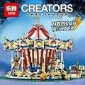 3263 UNIDS Lepin Preventa 15013 Calle Carrusel Creador Modelo Kits de Construcción de Juguete Bloques Compatible 10196 Cumpleaños