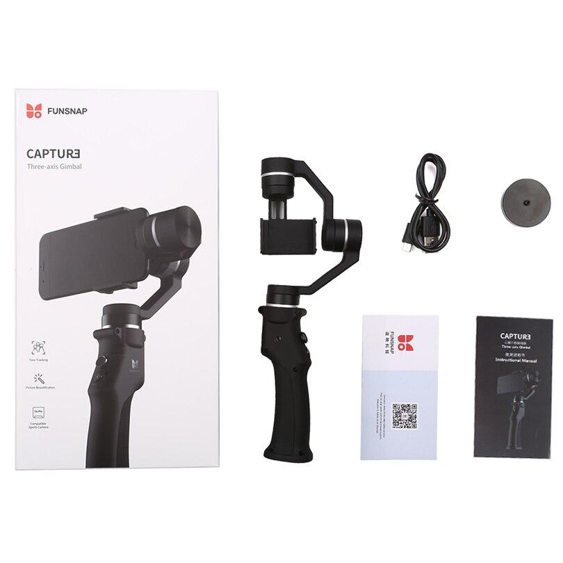 Image 5 - Funsnap Capture 3 Axis Handheld Gimbal Stabilizer for smartphone mobile phone gopro EKEN SJCAM action cameraHandheld Gimbal   -