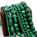Great Choice 4mm 6mm 8mm 10mm 12mm Malachite Bead Round Loose Spacer stone Beads For fashion jewelry