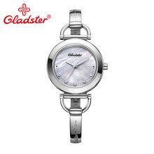 Gladster Japan MiyotaGL30 Модные женские кварцевые часы Роскошные женские наручные часы из нержавеющей стали водонепроницаемые Подарочные женские часы
