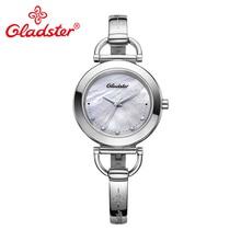 Gladster Japan MiyotaGL30 Fashion Women Quartz Watch Luxury Stainless Steel Female Wristwatch Waterproof Gift Ladies Dress Clock