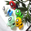 Wholesale 10Pcs Per Lot  Soft Plastic Cartoon Car Decoration Novelty Plastic Suction Cup Spider Man Doll