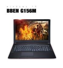 Bben 15.6 «ноутбук Windows 10 Intel i5-6300HQ Процессор 4 ядра FHD1920 * 1080 игровой ноутбук ноутбука 8 ГБ DDR3L Оперативная память + 128 ГБ M.2 SSD