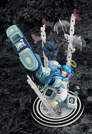 ФОТО 1pcs newest Game character DRAMAtical Murder Seragaki Aoba action pvc figure toy tall 28cm hot sell.