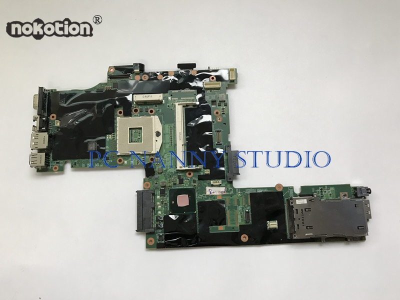 NOKOTION 63Y1487 75y4068 for Lenovo ThinkPad T410 w nVidia Laptop Motherboard Mainboard s989 QM57 TESTED WORKING