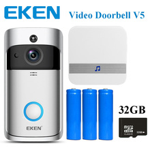 DHL Free Shipping EKEN Smart Video Doorbell V5 with Chime Wi