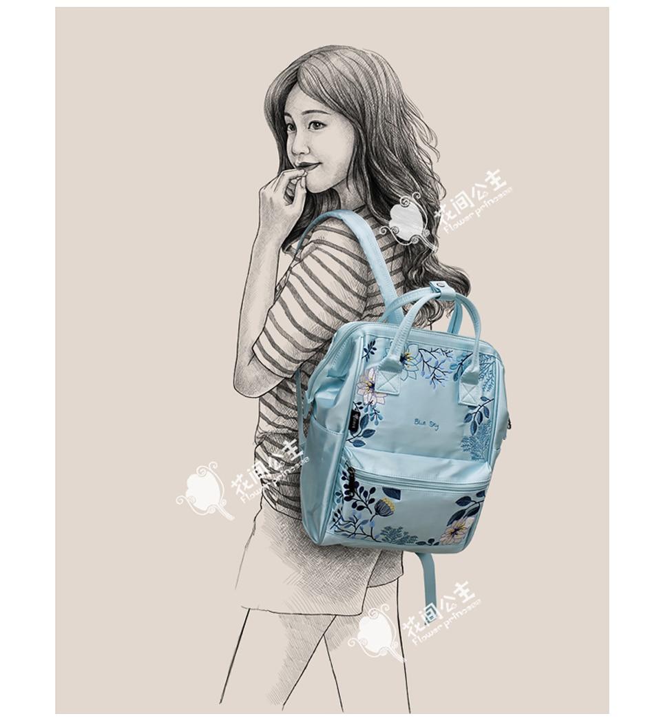 Cheap nylon backpack