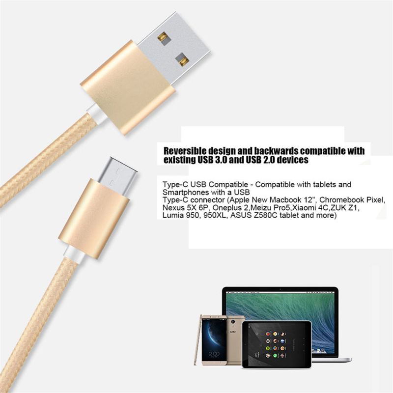 For Ulefone Gemini Pro USB 3.1 Type C Cable 100% New Type C USB Wire ...