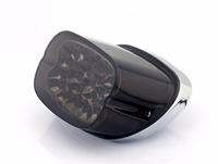 Smoke Tail Light LED integrated Turn Signals Harley Fatboy, Sportster, Dyna, Road King, Glides, Fatboy, XL 883 1200