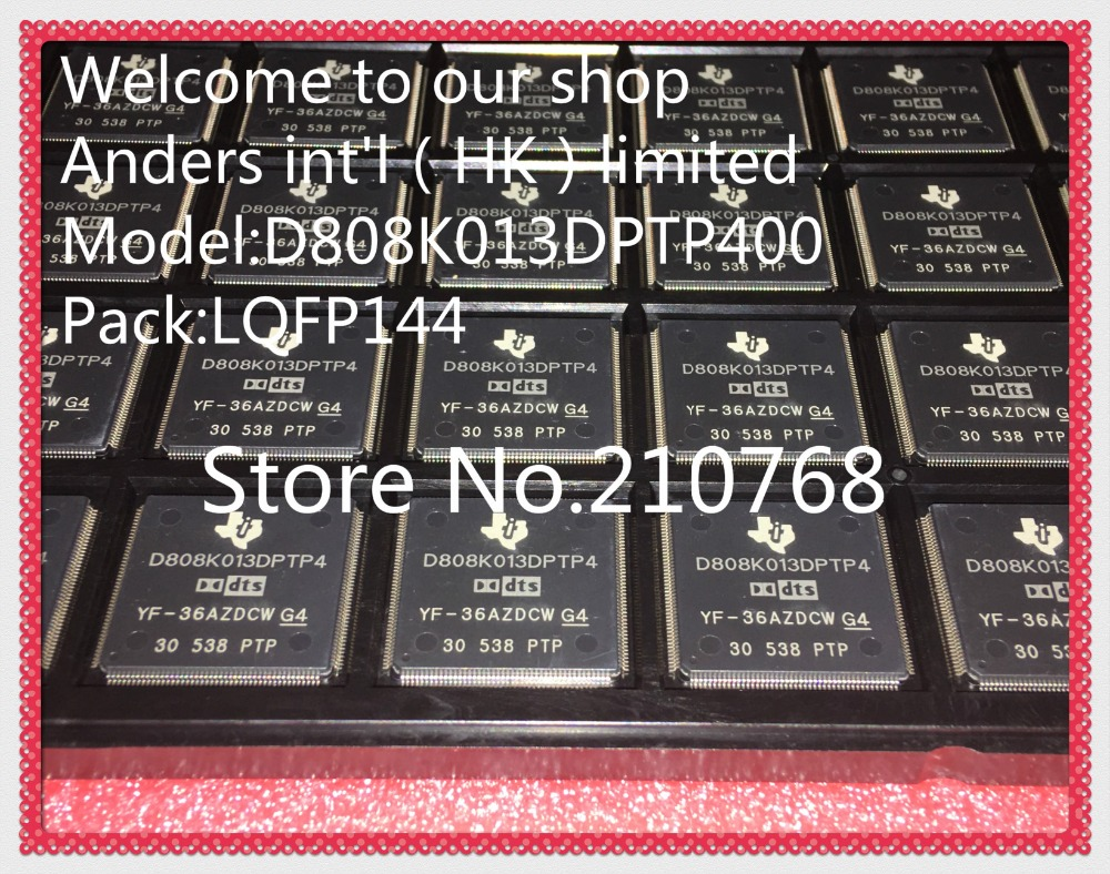 5pcs/lot       D808K013DPTP400          D808K013DPTP4        D808K013          TQFP144-in Integrated Circuits from Electronic Components & Supplies    1