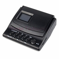 Y4308Z Best Professional Digital Voice Recorder Phone Call Monitor With LCD Display Caller ID Clock 110V