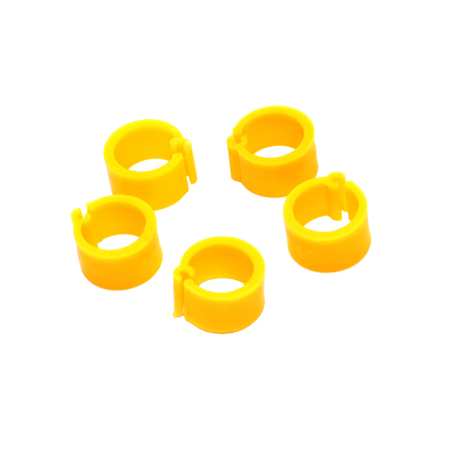 200 Pcs 8 MM Pigeon Foot Ring Color Identification Rings 3