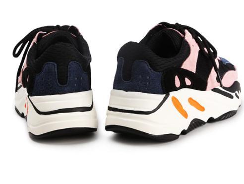 Sneakers Ciel Femmes Des forme Baimier Lace Up Talon Plate Pu Chunky Rose Véritable Chaussures rose Cuir En IXqxwZUS