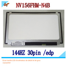 NV156FHM N4B для игр, разрешение 144 Гц, игровой экран IPS X с 30 контактным интерфейсом EDP, NV156FHM N4B BOE0726