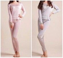 100% Silk Women's Base Layer Warm Thermal Underwear Long Johns Set M L XL SG380