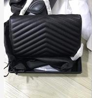 Классические женские Икра WOC кошельки на цепь кожаная сумка клапаном SAC Bolsa feminina клатч натуральная кожа сумки для женщин