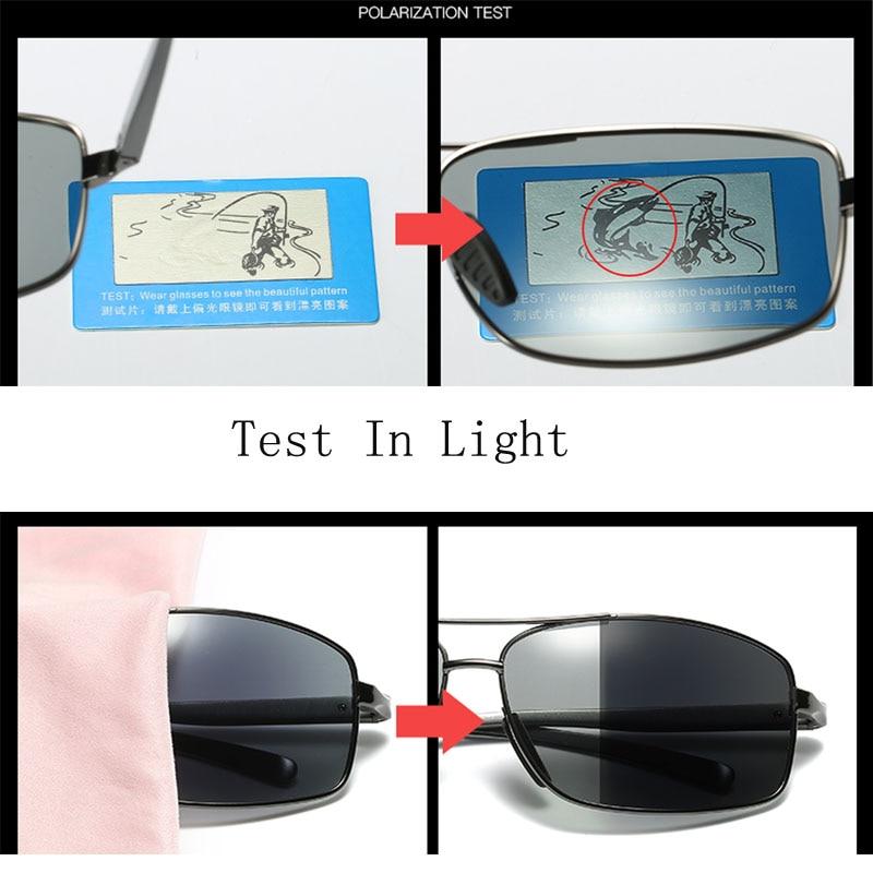 03e9edf210d Photochromic Sunglasses HD Polarized Men women driving change color goggles  Photochromic sun glasses Oculos De Sol-in Sunglasses from Apparel  Accessories on ...