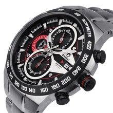 Luxury brand watches men sports luminous racing mens quartz wrist watch waterproof 100m CASIAM#8209