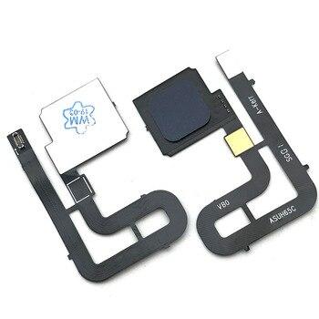 10 pcs/lot New Home Button FingerPrint Touch ID Sensor Flex Cable Ribbon For ASUS ZenFone 3 ZOOM ZE553KL Replacement Parts