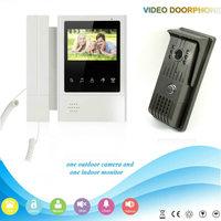 YobangSecurity 4 3 Inch Color Monitor Video Door Phone Doorbell Intercom Waterproof Camera Rain Cover With