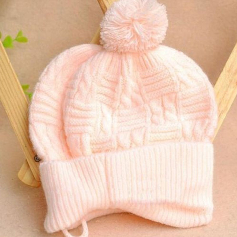 3a6bca649b0 1PCS New Baby Boy Girl Toddler Cute Soft Crochet Bear Hat Beanie Warm Newborn  Cap Hot sale-in Skullies   Beanies from Men s Clothing   Accessories on ...