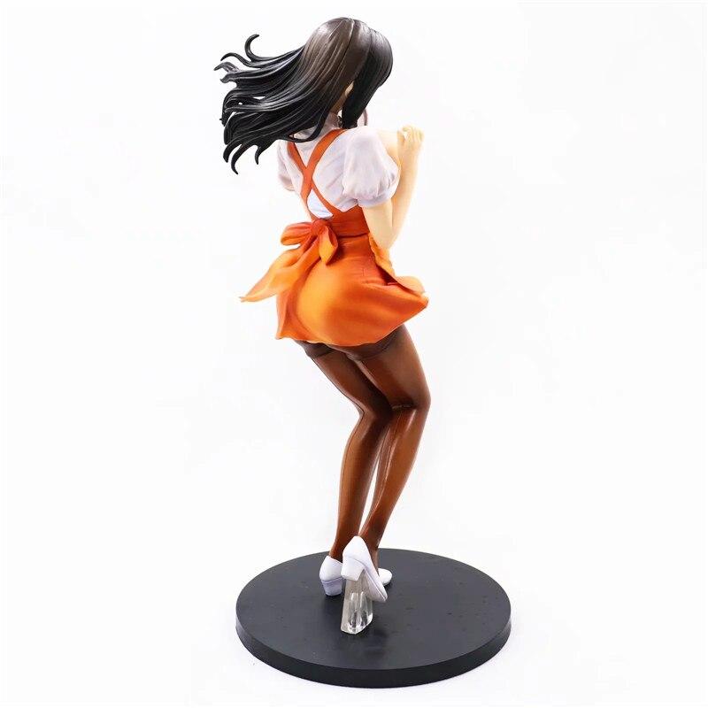 29cm DRAGON Toy Oda Non Heroine Collections Wakazuma Waitress Hitomi PVC Sexy Figure Figurine Toys 1