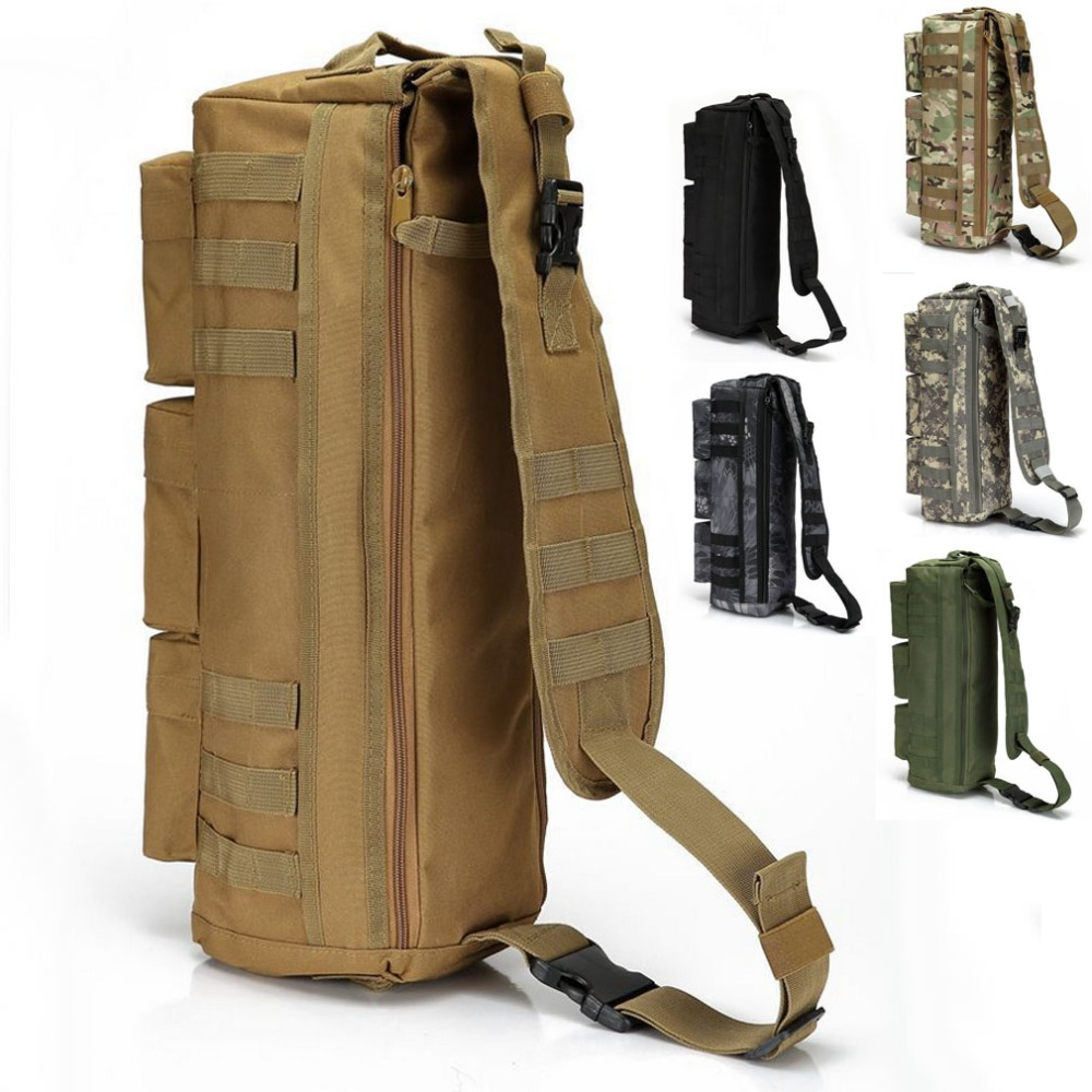 Climbing Bags Helpful Waterproof Nylon Tactical Mens Messenger Bag Military Backpack Rucksack Cross Body Shoulder Handbag Bag Outdoor Travel Bags Sports & Entertainment
