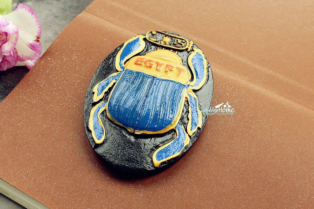 Egyptian HEPER, Egypt Tourist Travel Souvenir 3D Resin Fridge Magnet Craft GIFT