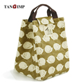 TANGIMP Hedgehog Tree Bear Lunch Bags Portable Insulated Thermal Cooler Food Storage Containers Carry Bag Travel Picnic Handbags
